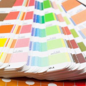 Pantone для выбора цвета блокнота